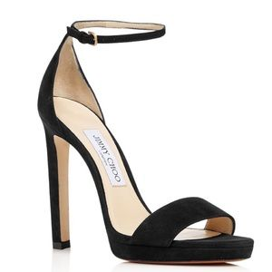 Jimmy Choo Misty 120 Platform High Heel Sandal 40